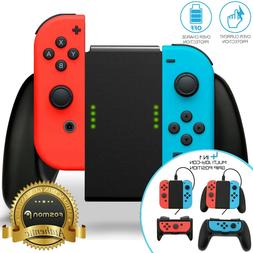 Nintendo Switch Joy Con Comfort Grip Controller Charger Han