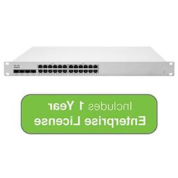 Cisco Meraki Cloud Managed MS225 Series 24 Port PoE Gigabit