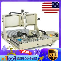CNC 6090 4Axis Engraver Milling Machine 3D 2.2kW Controller+