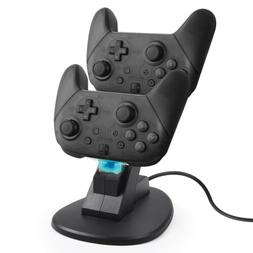 Controller Charger Charging Dock Station Stand Dual USB Port