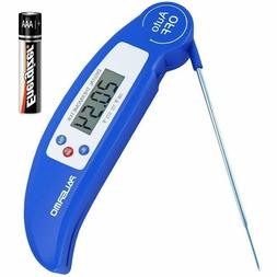 Best Cooking Barbecue Meat Thermometer Ultra Fast Instant Re
