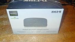 D-LINK 8 Port Gigabit Switch   DGS-1008G