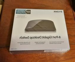 D-Link 8-Port Gigabit Switch  Brand New: Unopened