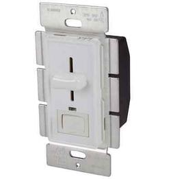 Orbit D603SL-W Slide Dimmer 3-Way with Led and Switch White