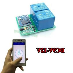 DC 12V Bluetooth Relay Switch Module Wireless Mobile Phone A