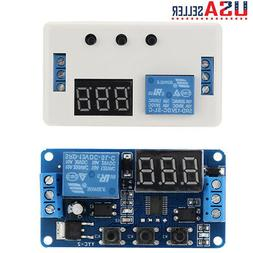 DC 12V LED Automation Delay Timer Control Switch Relay Modul