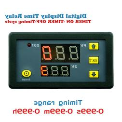 DC12V 20A Digital LED Cycling Timing Timer Delay Time Relay