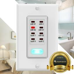 Digital In Wall Switch Gang Countdown Programmable Timer Aut