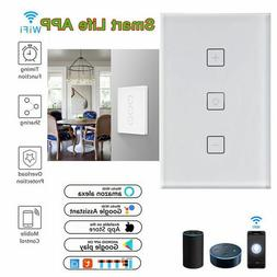 dimmable smart led light switch wifi wall