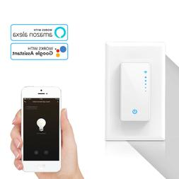 Dimmable Smart Switch Wall Light WIFI APP Remote Touch Conto