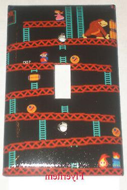 Donkey Kong Games Light Switch Duplex Outlet wall Cover Plat