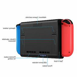 Double Your Nintendo Switch Power: Battery Stand Backup Case