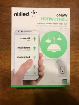 Belkin F7C030FC Wemo Smart Light Switch - White