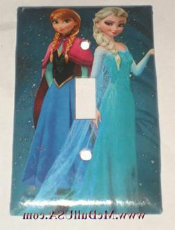 Frozen Elsa with Anna Light Switch Duplex Outlet Wall Cover