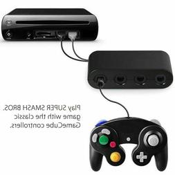 GameCube Controller Adapter 4 port for nintendo Switch Wii U