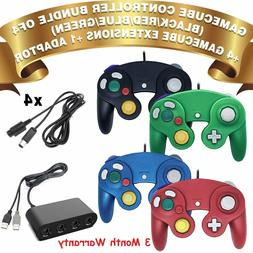 Mayflash GameCube Controller Adapter for Wii U & PC USB 4 Po