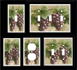 GRAPE VINE #5  LIGHT SWITCH COVER PLATE LIGHT SWITCH COVER P