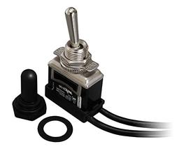 HEAVY DUTY TOGGLE SWITCH 20/15A 125/277V 2 HP with Waterproo