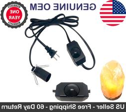Himalayan Salt Lamp Replacement Power Cord w/ ZE-04 Light Di