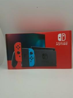 IN HAND Nintendo Switch V2 Neon Red and Blue Joy-Con Console