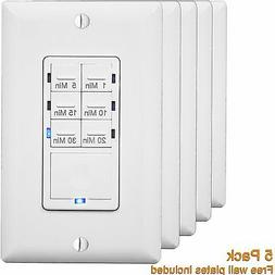 In-Wall Countdown Timer Switch With LED Indicator Enerlites