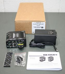 Black Box Industrial Ethernet Switch LBH150AE-SSC, 100 Mbps,
