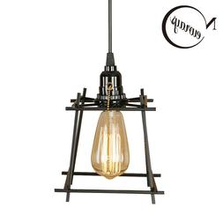 Iron Black Pendant Light Ceiling Fixtures E27 Home Deco Hang