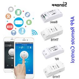Sonoff ITEAD Smart Home WiFi Wireless DIY Switch/DR Tray/Bas