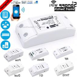 Sonoff ITEAD Smart Home WiFi Wireless Switch Module Fr Apple