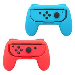 FastSnail Grips compatible with Nintendo Switch Joy Cons, We