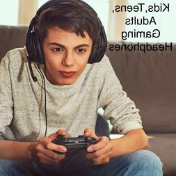 Kids Teens Adults Gaming Headsets Headphones For PS4 Xbox On