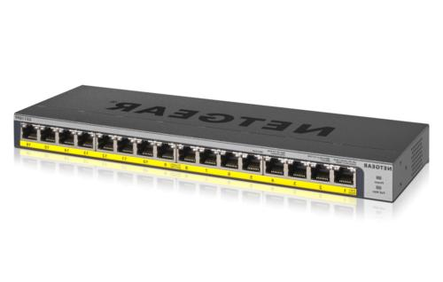 16 port poe poe gigabit ethernet unmanaged