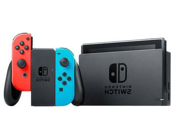 2020 Switch with Neon Red Joy‑Con