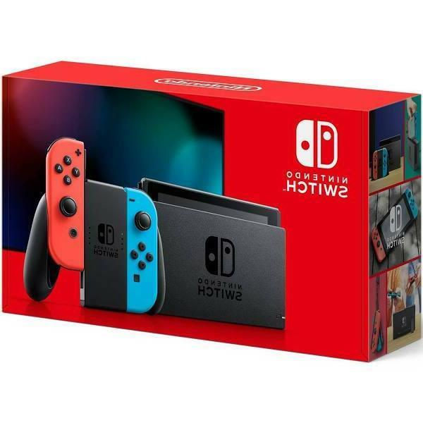 2020 switch with neon blue and neon