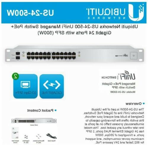 Ubiquiti UniFi Switch, Managed Switch