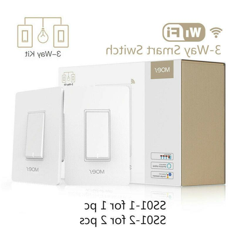 3 way wifi smart light switch light