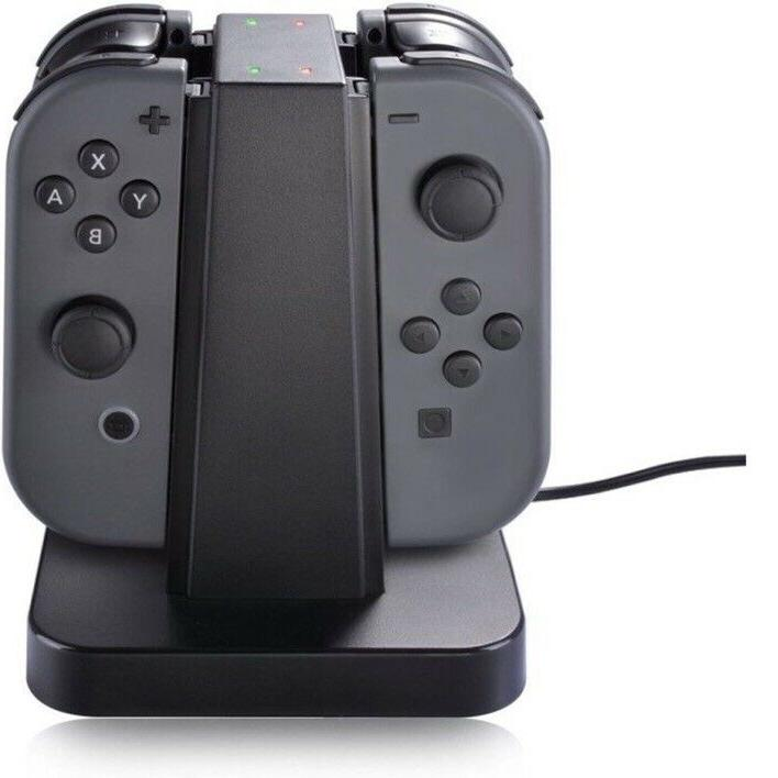 4 In Controller Charger Stand Dock for Nintendo Switch Pro
