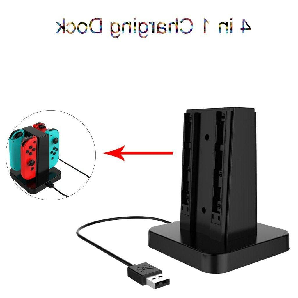 4 Charger Charging for Switch