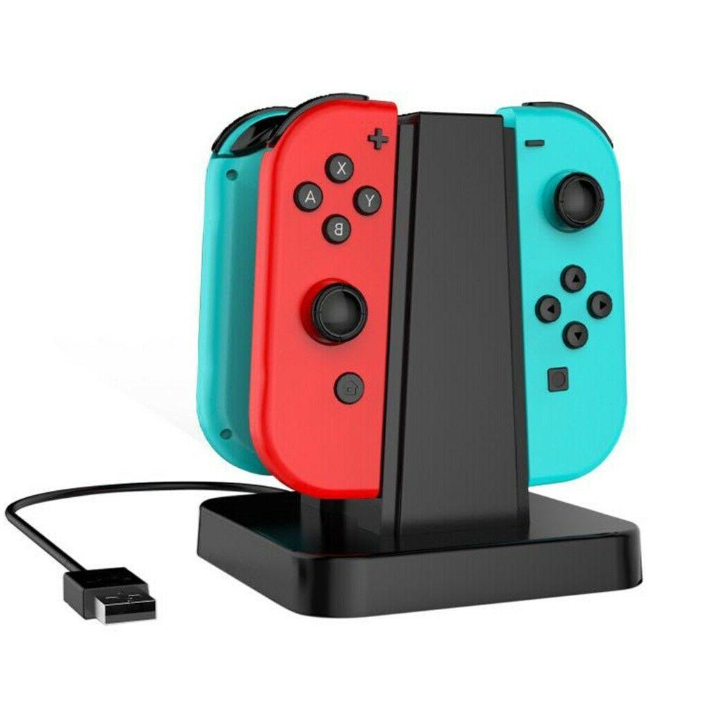 4 1 Controller Charger for Nintendo