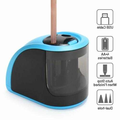 4 in 1 Electric Pencil Sharpener Switch Classroom