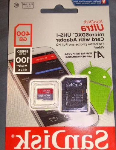 400gb micro sd card nib great