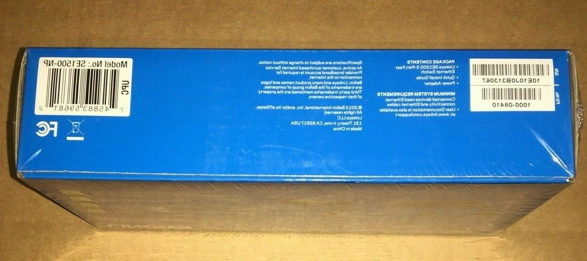 Linksys Switch SE1500-NP New In Sealed Box