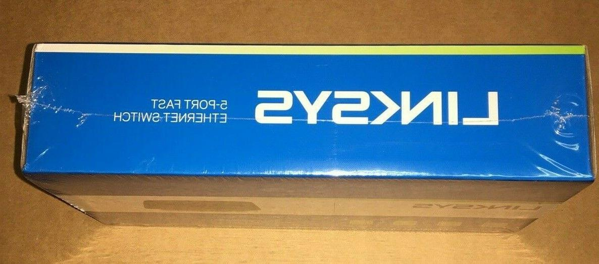 Linksys 5-Port Fast Switch In Sealed Box