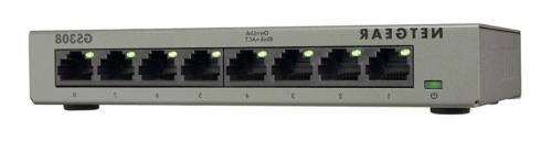 NETGEAR 8-Port Gigabit Ethernet Unmanaged Switch, Desktop, I