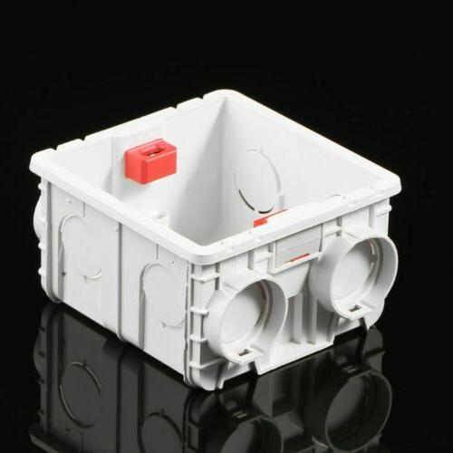 86-Type Wall Mount PVC Junction Box Cassette For Switch Sock