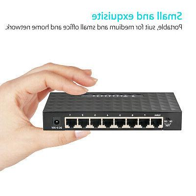 8Port Ethernet Switch for Router &