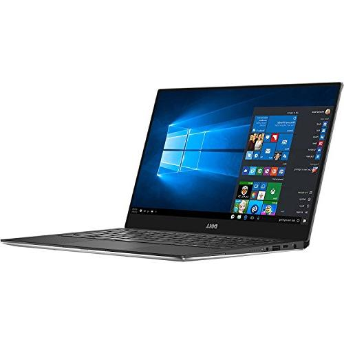 Dell XPS Laptop , Intel 8th Gen Quad-Core Backlit Silver