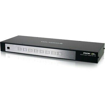 IOGEAR 8-Port HDMI Switch with RS-232 Support, GHSW8181
