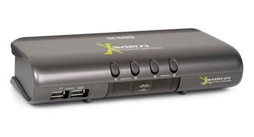 IOGEAR MiniView Extreme Multimedia KVMP Switch with Cables