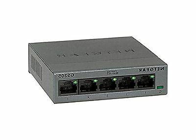 NETGEAR 5-Port Gigabit Ethernet Unmanaged Switch, Desktop, I